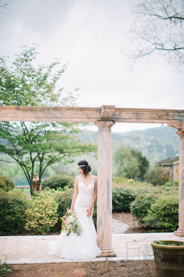 Elegant Southern Wedding Inspiration at The Tate House