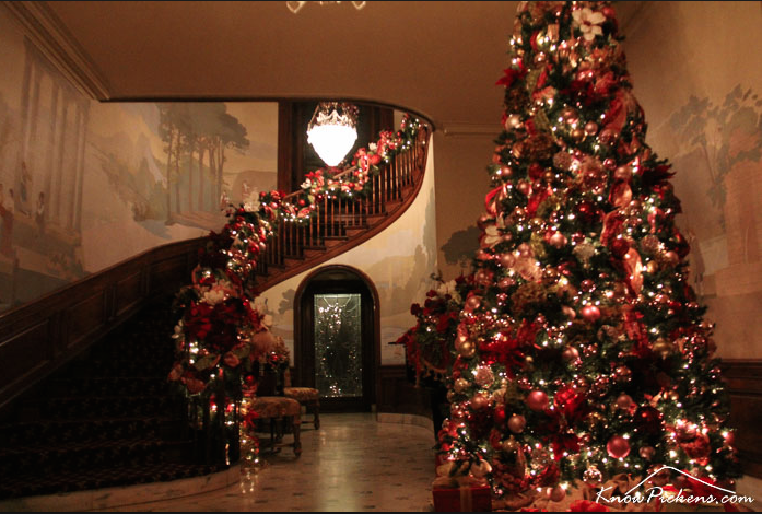 Elegant Annual Christmas Open House at The Tate House